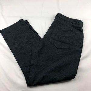 Calvin Klein Men's Slacks Slim Black 30 X 30 (P16)